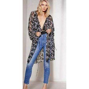 Victoria's Secret Kimono Duster Robe